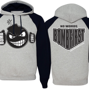 BF Bomb hoodie 2 tone men