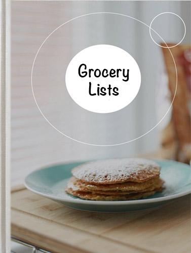 Grocery Lists